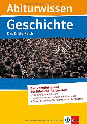 9783129297070: Abiturwissen Geschichte. Das Dritte Reich
