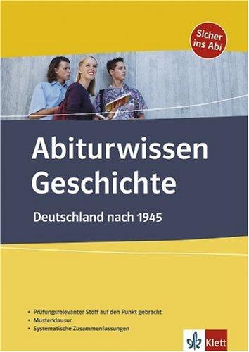 9783129297988 Abiturwissen Geschichte Deutschland Nach 1945