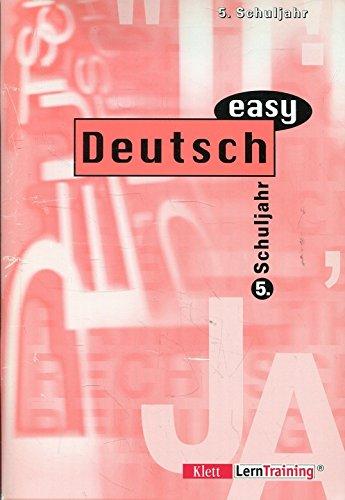 9783129298138: Deutsch easy, neue Rechtschreibung, 5. Schuljahr