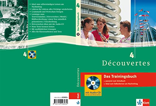 9783129298930: Découvertes 4. Das Trainingsbuch: 4. Lernjahr