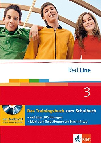 9783129299777: Red Line. Unterrichtswerk für Realschulen. 7. Schuljahr. Das Trainingsbuch mit Audio-CD