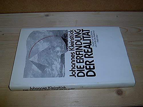 9783129343401: Die Erfindung der Realit�t: Studien zur Geschichte und Kritik des Realismus