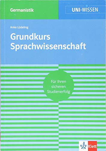 9783129390191: Grundkurs Sprachwissenschaft