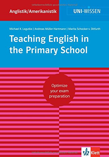 9783129390238: Teaching English in the Primary School