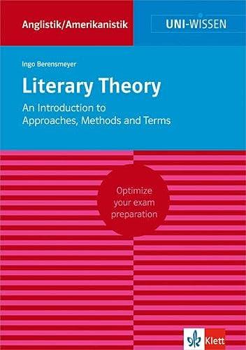 9783129390269: Literary Theory