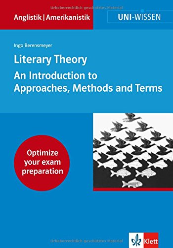 9783129395004: Literary Theory: An Introduction to Approaches, Methods and Terms