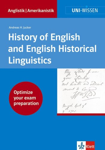 9783129395844: Uni-Wissen: History of English and English Historical Lingustics (German Edition)