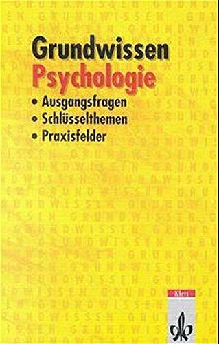 9783129396049: Grundwissen Psychologie. (Lernmaterialien)