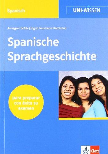 9783129396247: Spanische Sprachgeschichte