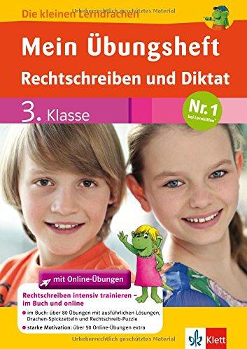 9783129491027: Mein Übungsheft Rechtschreiben und Diktat mit Online-Übungen 3. Klasse