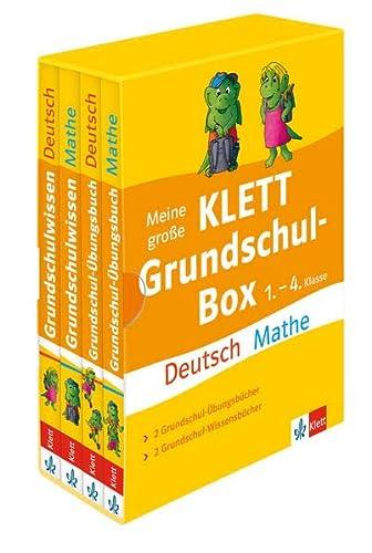 9783129491140: Meine große Klett Grundschul-Box: Deutsch und Mathe 1. - 4. Klasse