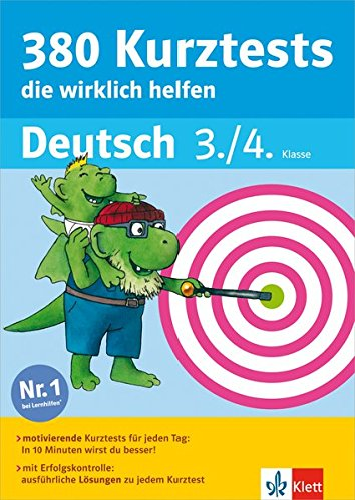 9783129491164: 380 Kurztests, die wirklich helfen Deutsch 3./4. Klasse