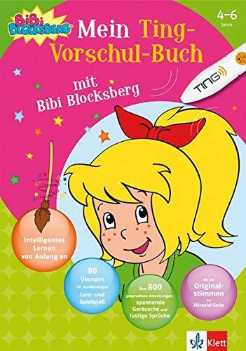 9783129491294: Mein Ting-Vorschulbuch mit Bibi Blocksberg: 4-6 Jahre