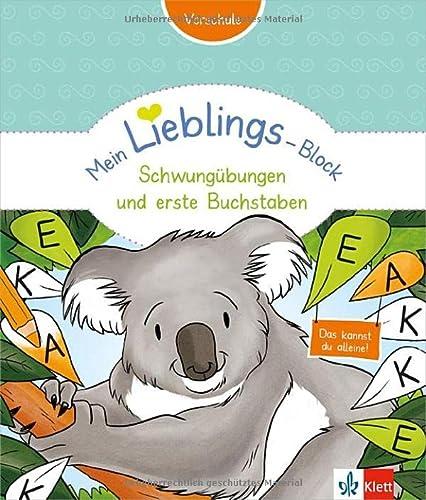 9783129491744: Mein Lieblings-Block Schwungübungen und erste Buchstaben