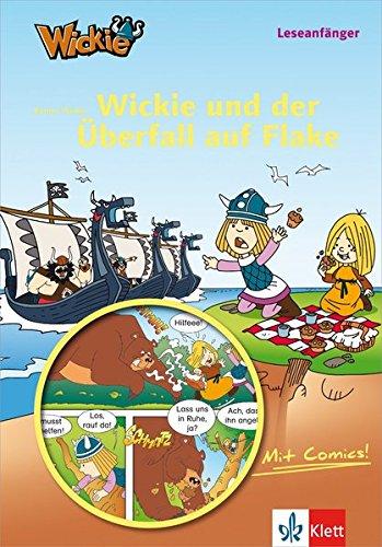 9783129492550: Wickie und der Überfall auf Flake: Buch mit Comic-Anteilen
