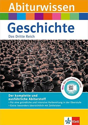 9783129493083: Abiturwissen Geschichte: Das Dritte Reich