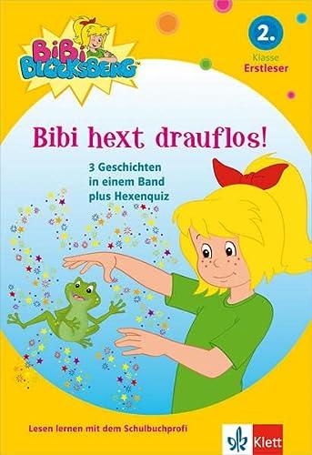 9783129493939: Bibi Blocksberg - Bibi hext drauflos!: 3 Geschichten mit Bibi Blocksberg plus Hexenquiz. 2. Klasse (Erstleser) ab 7 Jahren