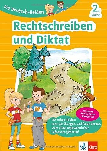 9783129494141: Klett Die Deutsch-Helden Rechtschreiben und Diktat 2. Klasse