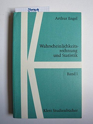 9783129831601: Wahrscheinlichkeitsrechnung und Statistik, Bd.1