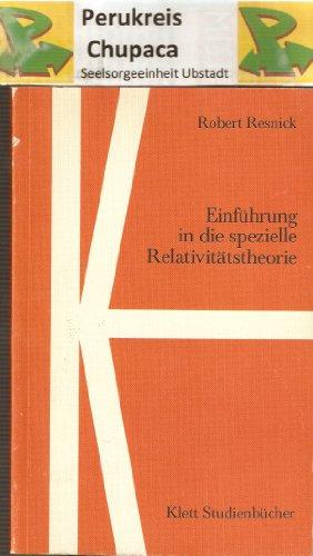9783129838006: Einführung in die spezielle Relativitätstheorie