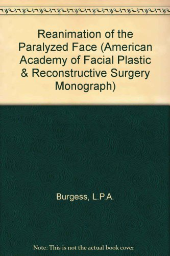 9783131002112: Reanimation of the Paralyzed Face (American Academy of Facial Plastic & Reconstructive Surgery Monograph)