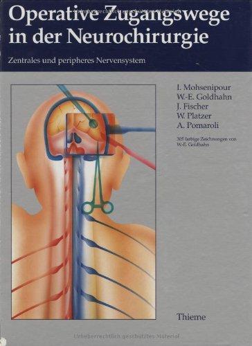 9783131002518: Operative Zugangswege in der Neurochirurgie