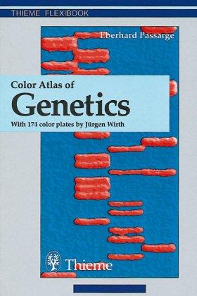 9783131003614: Color Atlas of Genetics (Thieme flexibooks)