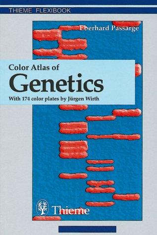 9783131003621: Color Atlas of Genetics (Thieme Flexibook)