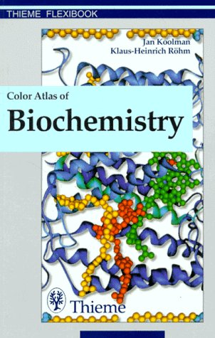 9783131003713: Color Atlas of Biochemistry (Thieme flexibooks)