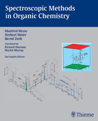 9783131060419: Organic Spectroscopy: Methods and Applications (Foundations of Organic Chemistry)