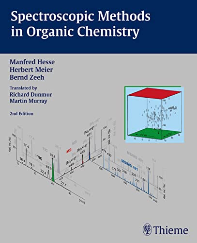 9783131060426: Spectroscopic Methods in Organic Chemistry, 2nd Edition 2007 (Foundations series)