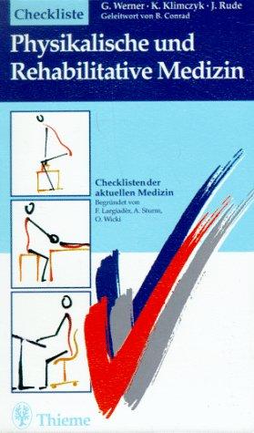 9783131066718: Checkliste Physikalische und Rehabilitative Medizin