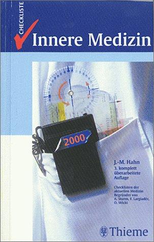 9783131072436: Checklisten der aktuellen Medizin, Checkliste Innere Medizin