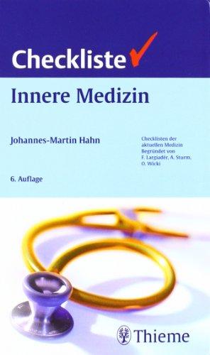 9783131072467: Checkliste Innere Medizin