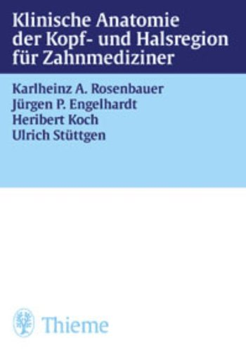 9783131077813: Klinische Anatomie der Kopf- und Halsregion für Zahnmediziner.