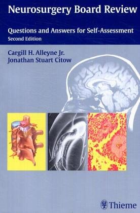 9783131088710: Neurosurgery Board Review: Questions and Answers for Self-Assessment
