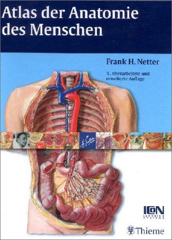 9783131090232: Atlas der Anatomie des Menschen - ZVAB - Frank H ...