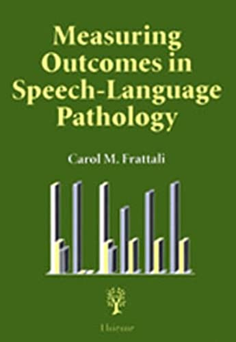 9783131097316: Measuring Outcomes in Speech-Language Pathology