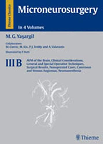9783131109118: Microneurosurgery: Complete Set Volumes 1- 4b