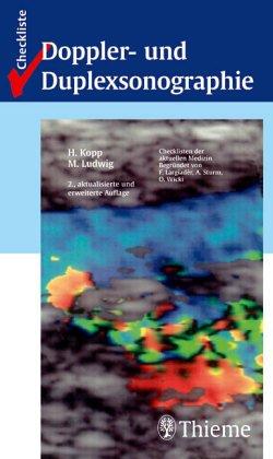 9783131109316: Checkliste Doppler- und Duplexsonographie