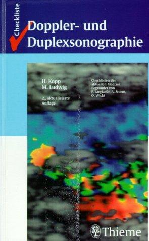 9783131109323: Checklisten der aktuellen Medizin, Checkliste Doppler- und Duplexsonographie