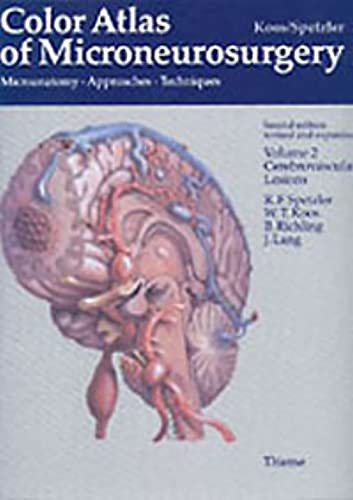 Color Atlas of Microneurosurgery: Koos, Wolfgang T.,