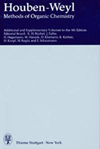 Methods Of Organic Chemistry, Ln; Methoden Der Organischen Chemie, Ln, E.23D/1, Substance ...