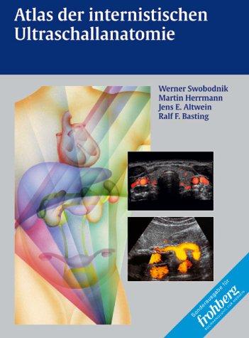 9783131120410: Atlas der internistischen Ultraschallanatomie