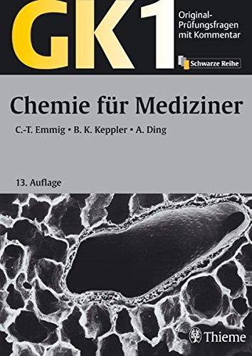 9783131149138: Original-Prüfungsfragen mit Kommentar GK 1. Chemie für Mediziner