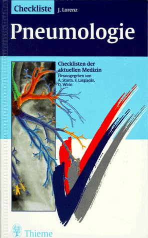 9783131150714: Checklisten der aktuellen Medizin, Checkliste Pneumologie