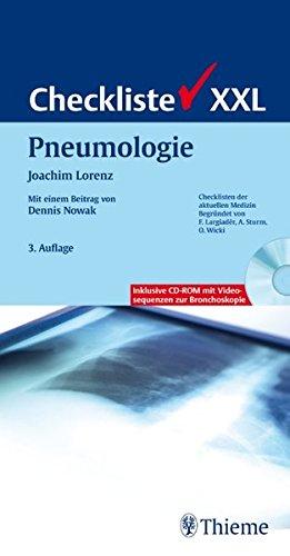 9783131150738: Checkliste XXL Pneumologie