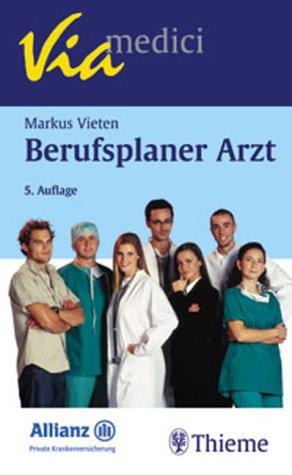 9783131161055: Berufsplaner Arzt.