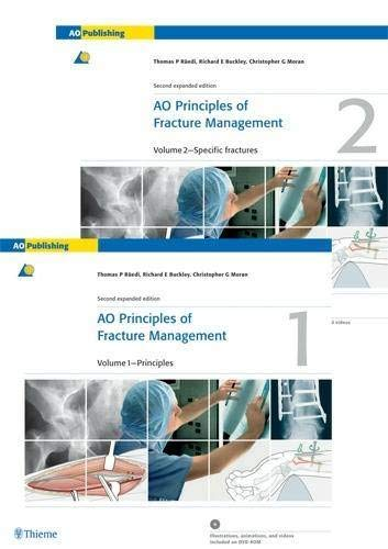 9783131174420: AO Principles of Fracture Management: Vol. 1: Principles, Vol. 2: Specific fractures: Principles v. 1