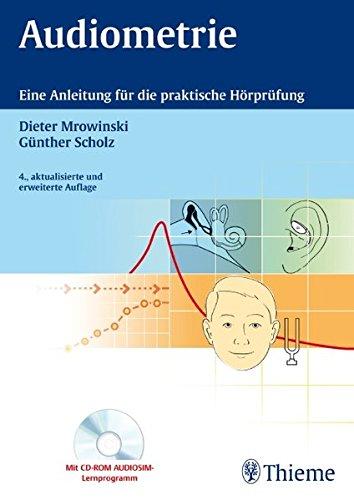 9783131180049: Audiometrie: Eine Anleitung für die praktische Hörprüfung